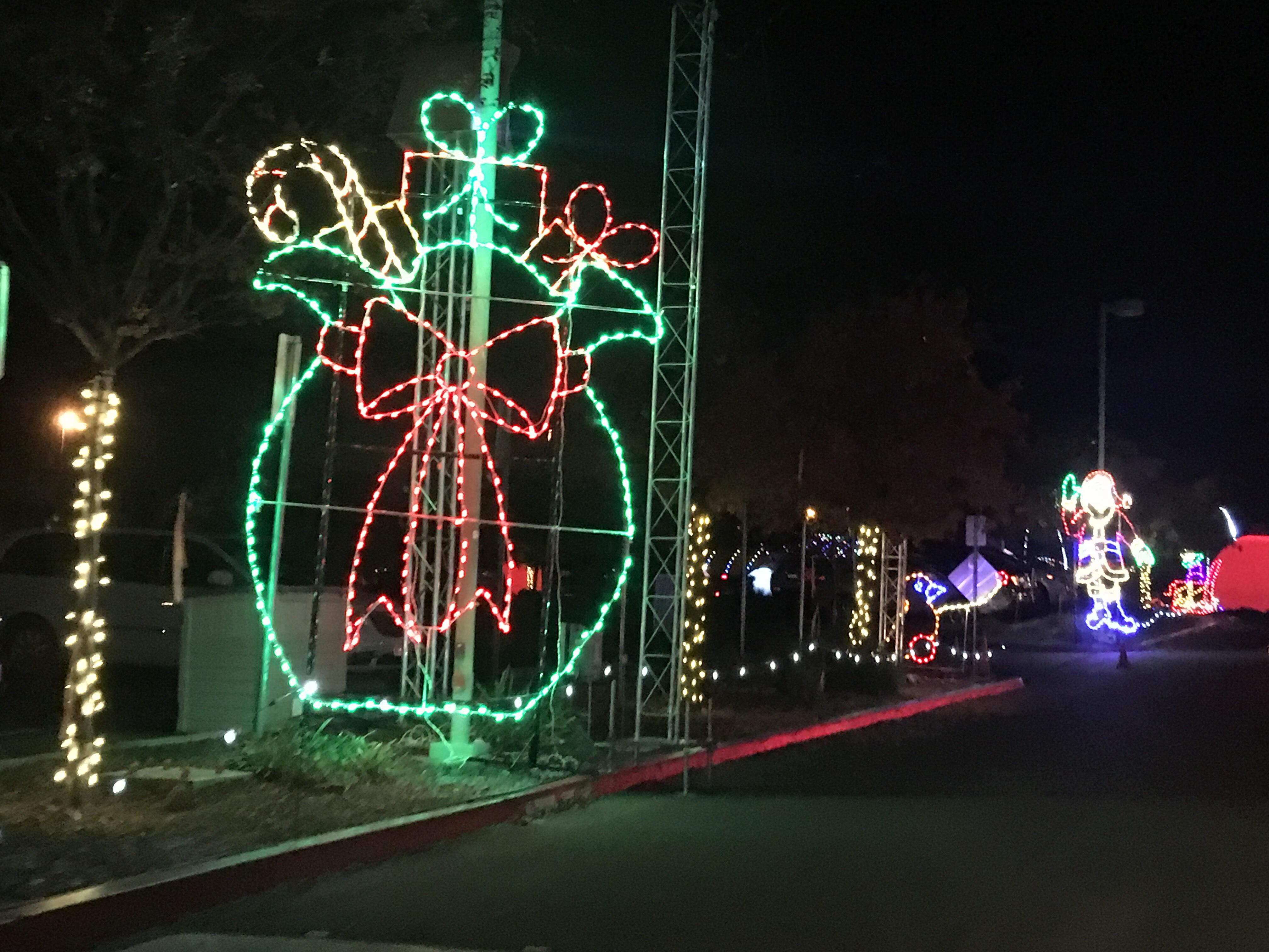 christmas lights drive vancouver