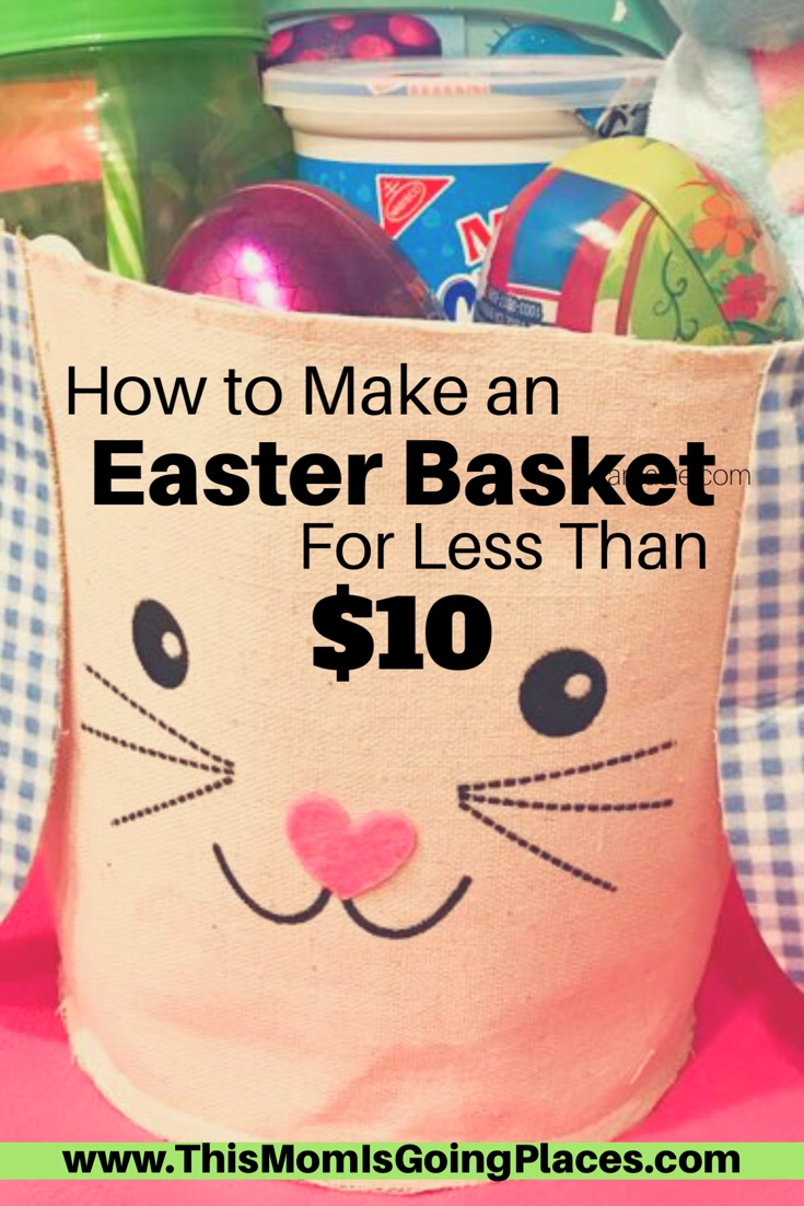 How to make an easter basket for less than 10 to each their own but if you are like me then id like to share with you how i achieved to make an easter basket for my girls under 10 each negle Images